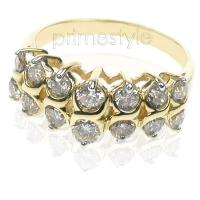 1.20CT Round Cut Diamonds Fashion Ring