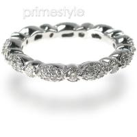1.20CT Round Cut Diamonds Eternity Band