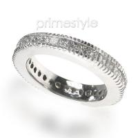 1.90CT Princess Cut Diamonds Eternity Band