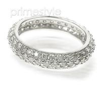 2.50CT Round Cut Diamonds Eternity Band