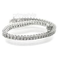 2.00CT Diamonds Tennis Bracelet In 14KT White Gold