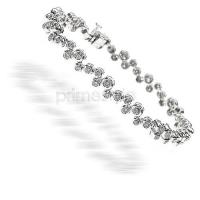 1.70CT Diamonds Bracelet (H/SI1-SI2 - Color/Clarity)
