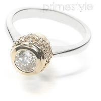 1.00CT Round Cut Diamond Solitaire Ring