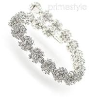 9.00CT Round Cut Diamonds Bracelet with H/SI1-SI2 (Color/Clarity