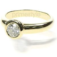 0.30CT Round Cut Diamond Solitaire Ring