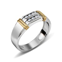 0.50CT Round Cut Diamonds Men's Wedding Band