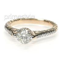 1.35CT Round Cut Diamonds Engagement Ring
