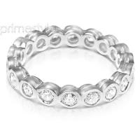 1.50CT Round Cut Diamonds Eternity Band