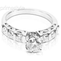 0.95CT Round Cut Diamonds Engagement Ring