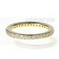 0.45CT Round Cut Diamonds Eternity Band