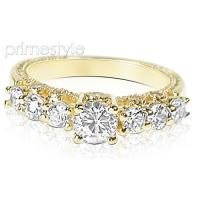 1.55CT Round Cut Diamonds Engagement Ring
