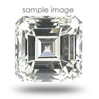 0.84CT Asscher Cut J/VS2 Loose Diamond