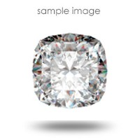 0.49CT Cushion Cut H/VVS1 Loose Diamond
