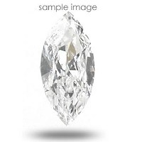 0.45CT Marquise Cut J/VVS2 Loose Diamond