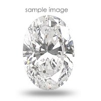 0.82CT Oval Cut H/SI1 Loose Diamond