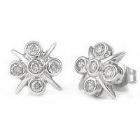 0.50CT Round Cut Diamonds Earring