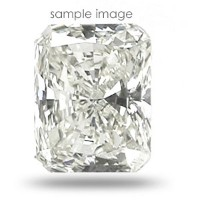 0.52CT Radiant Cut J/VS2 Loose Diamond
