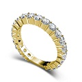 2.90CT Round Cut Diamond Wedding Band