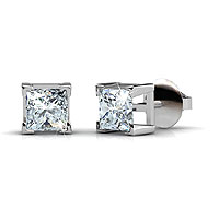 Diamond Stud Earring Featuring 0.80CT Total In 18KT White Gold Setting