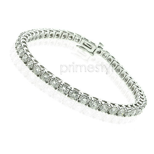 Tennis Bracelet In 14KT White Gold � 4.00CT Diamonds
