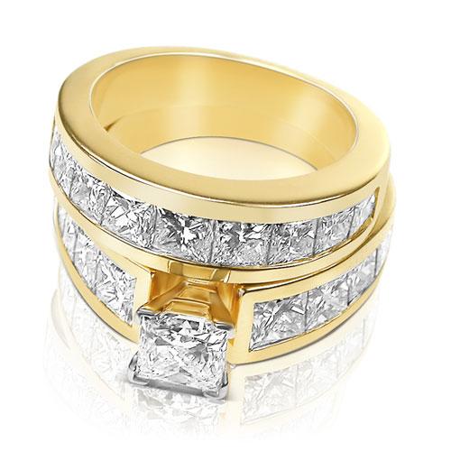 princess cut diamond engagement rings princess cut engagement rings ...