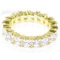 4.60CT Princess Cut Diamonds Eternity Band