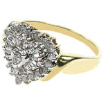 0.50CT Round Cut Diamonds Fashion Ring
