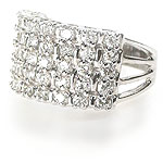 2.00CT Round Cut Diamonds Wedding Band
