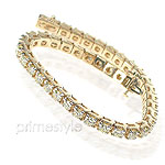 9.00CT Round Cut Diamonds Tennis Bracelet