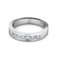 1.20CT Princess Cut Diamond Wedding Band