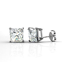14KT White Gold 0.25CT Diamond Stud Earrings